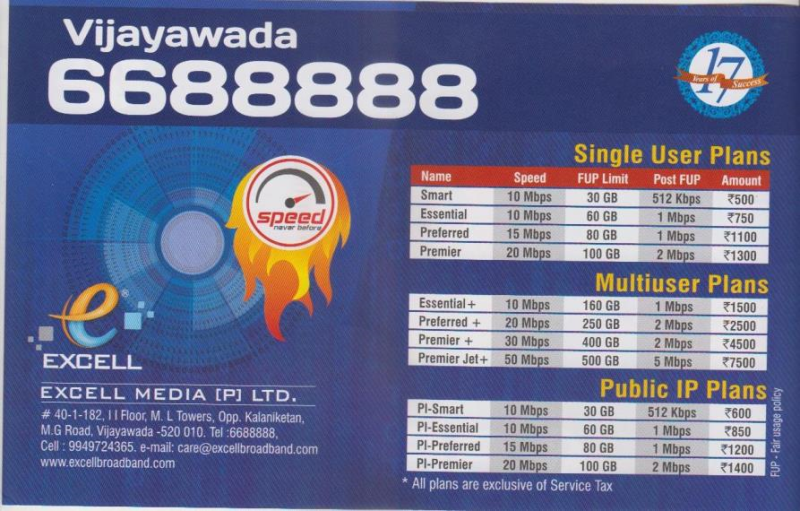 Excell Media Pvt Ltd In M G Road Vijayawada 520010