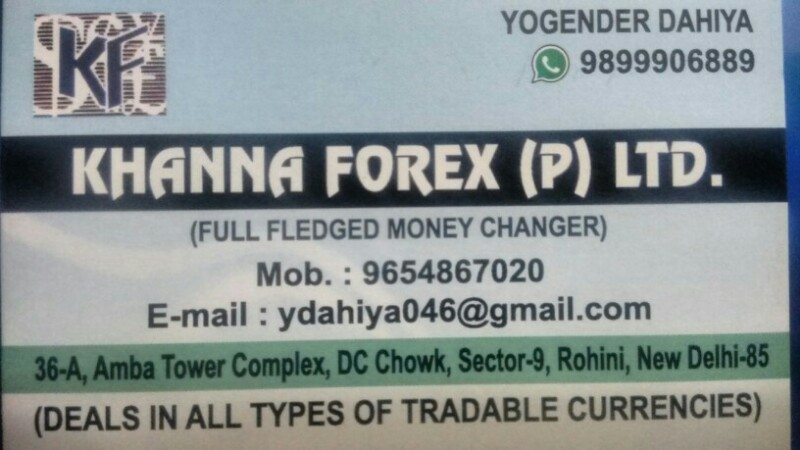 Dhakad forex pvt ltd