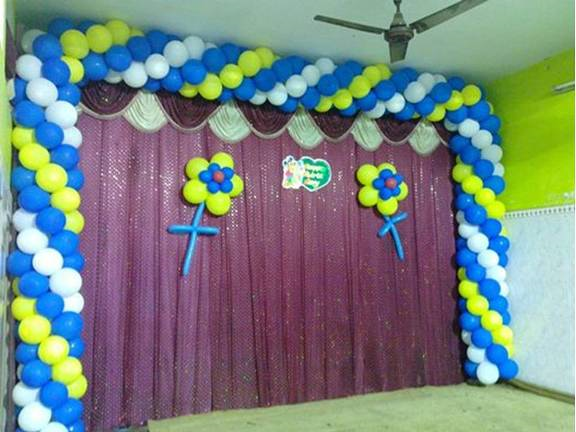 Jp balloon decoration in otteri chennai 600012 for Balloon decoration in bangalore